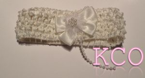 Ivory~ Girls Headbands